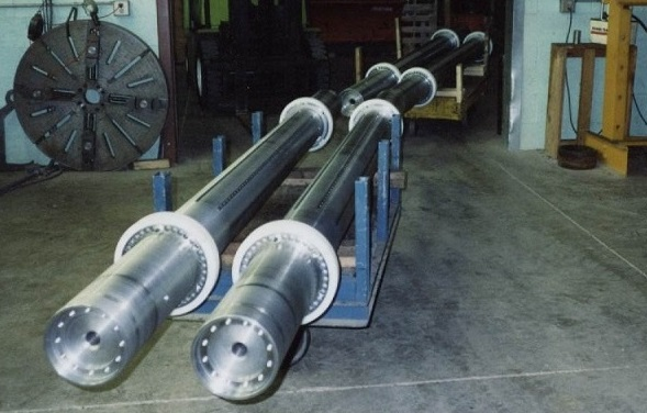 Steel brush rollers for a production run of 30 pcs